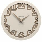 Hodiny na zeď Designové hodiny 10-002 CalleaDesign Labirinto 30cm (více barevných verzí) Barva šedomodrá tmavá - 44 161937 Designové hodiny