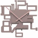 Hodiny na zeď Designové hodiny 10-003 CalleaDesign Kron 32cm (více barevných verzí) Barva oranžová - 63 161977 Designové hodiny