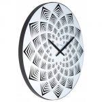 Hodiny na zeď Designové nástěnné hodiny 3130 Nextime Bloom 39cm 164283 Designové hodiny