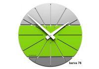 Designové hodiny 10-029 CalleaDesign Benja 35cm (více barevných verzí) Barva zelená oliva - 54 166512 Hodiny