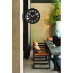 Hodiny na zeď Designové oboustranné nástěnné hodiny 5503BK Karlsson 31cm 161806 Designové hodiny