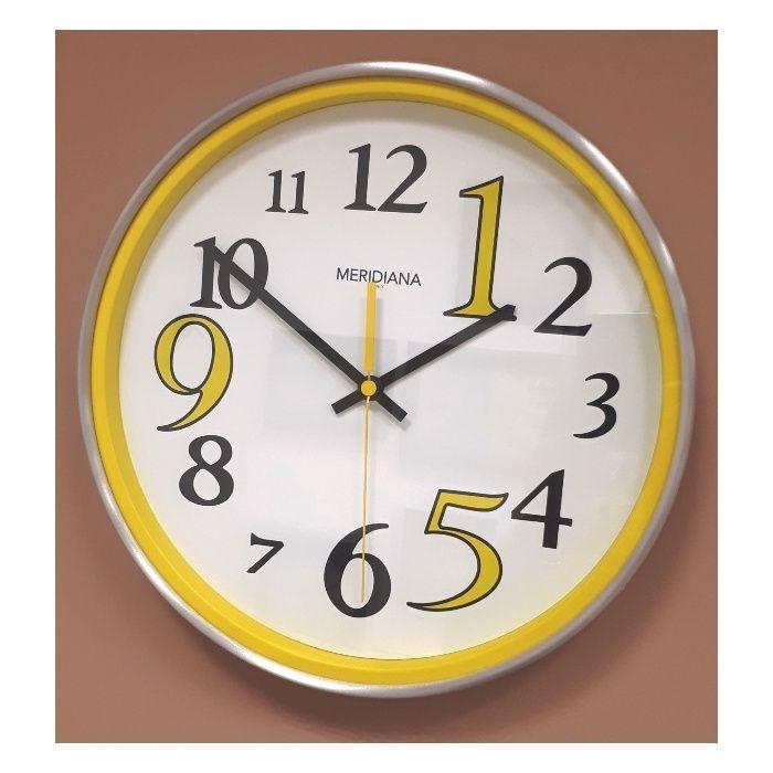 Designové hodiny D&D 545 yellow Meridiana 35cm 166552 Hodiny