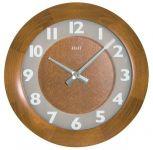 Hodiny na zeď Nástěnné hodiny kulaté 4324.4 dřevěné 139089 H&H Designové hodiny