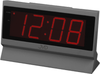 Budík do sítě JVD červený SB1820.1 166601