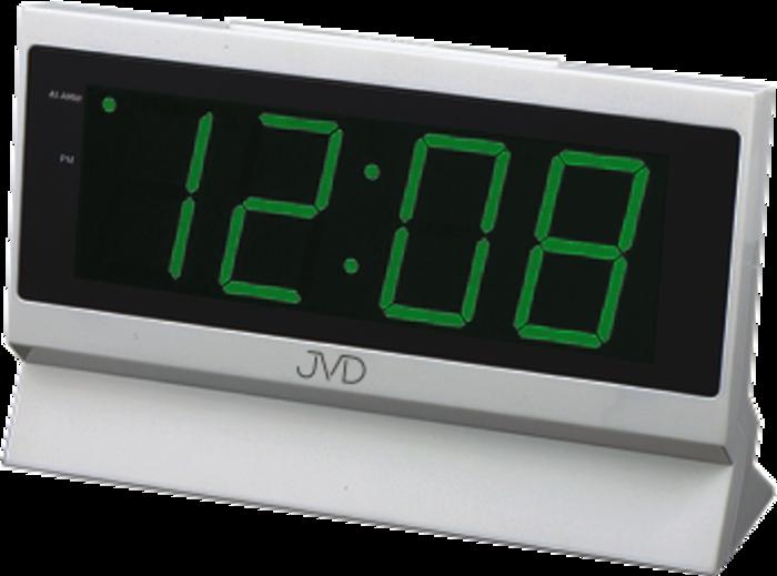 Hodiny na zeď Budík do sítě JVD zelený SB1820.2 166602 Designové hodiny