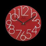 Hodiny JVD červené HT23.7 166746