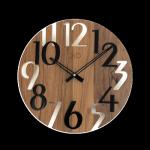 Hodiny JVD dřevo tmavé HT101.5 166749