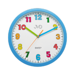 Hodiny na zeď Nástěnné hodiny S TICHÝM CHODEM JVD sweep HA46.1 156921 Designové hodiny