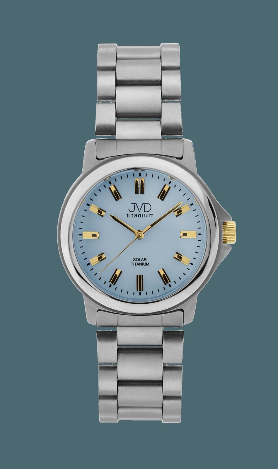 Náramkové hodinky JVD titanium J2015.3.3 151941 J2015.3.3
