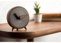 Designové stolní hodiny Nomon Atomo Graphite 10cm 165907 Hodiny