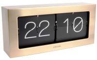 Designové nástěnné/stolní překlápěcí hodiny 5642GD Karlsson 37cm 166101 Hodiny