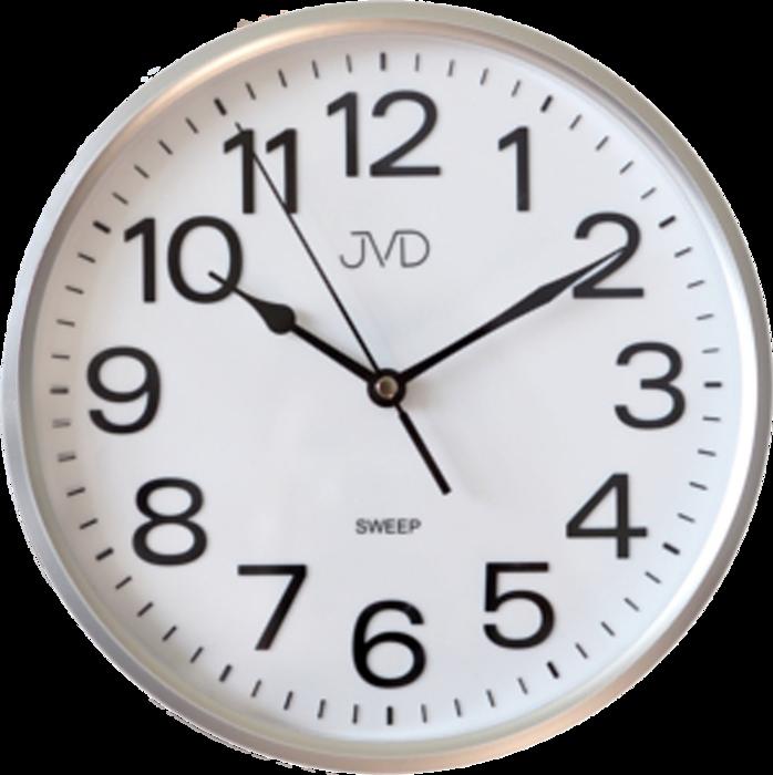 Hodiny JVD stříbrné HP683.1 166248 Hodiny