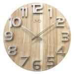 Nástěnné hodiny dřevěné JVD HT97.2 166088