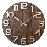 Nástěnné hodiny dřevěné JVD HT97.3 166213