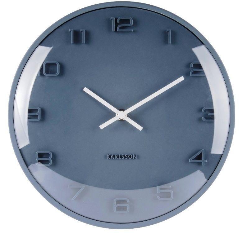Hodiny na zeď Designové nástěnné hodiny 5649BL Karlsson 25cm 166810 Designové hodiny