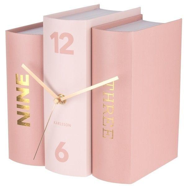 Designové stolní hodiny 5730 Karlsson 20cm 166817 Hodiny