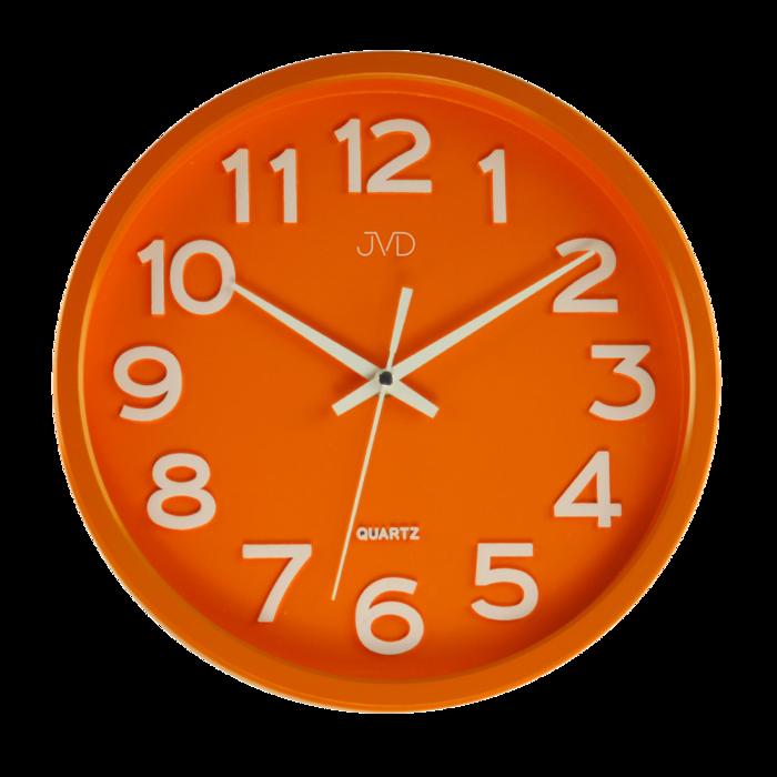 Hodiny JVD oranžové HX2413.6 166676 Hodinářství