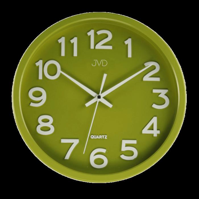 Hodiny JVD zelené HX2413.4 166678 Hodiny