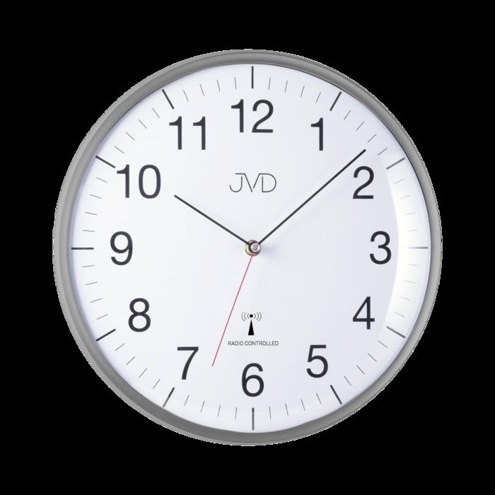 Rádiem řízene hodiny - šedé RH16.2 166805 Hodiny
