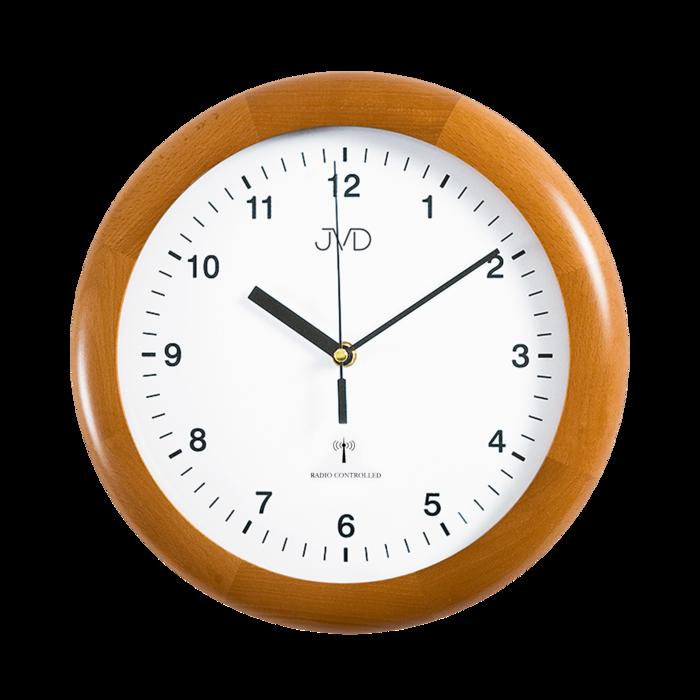 Rádiem řížené nástěnné hodiny JVD system RH2341/41 166857 Hodinářství