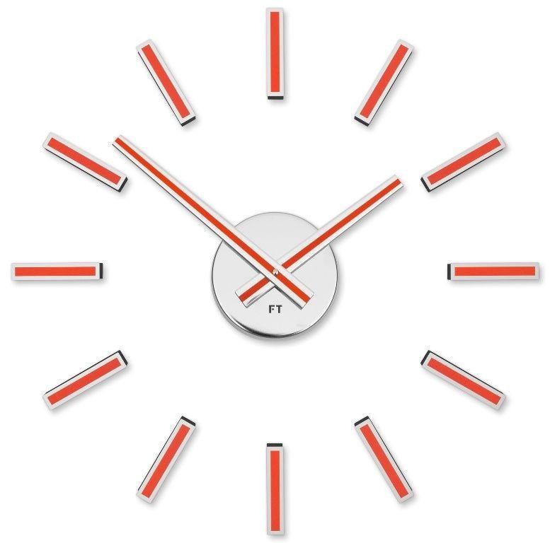 Designové nalepovací hodiny Future Time FT9400RD Modular red 40cm 167160 Hodiny