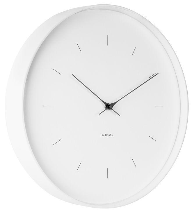 Designové nástěnné hodiny 5707WH Karlsson 37cm 166888 Hodiny