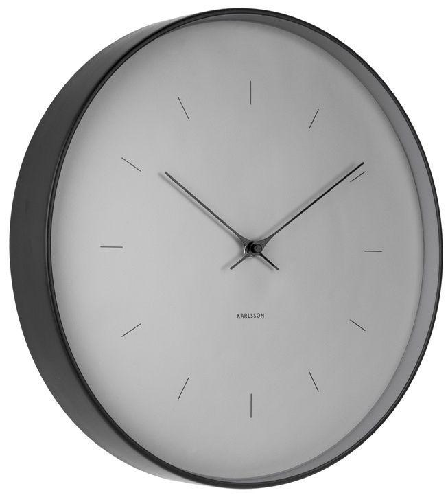 Designové nástěnné hodiny 5708GY Karlsson 27cm 166893 Hodiny