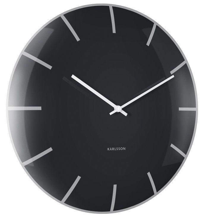 Designové nástěnné hodiny 5722BK Karlsson 40cm 166900 Hodiny