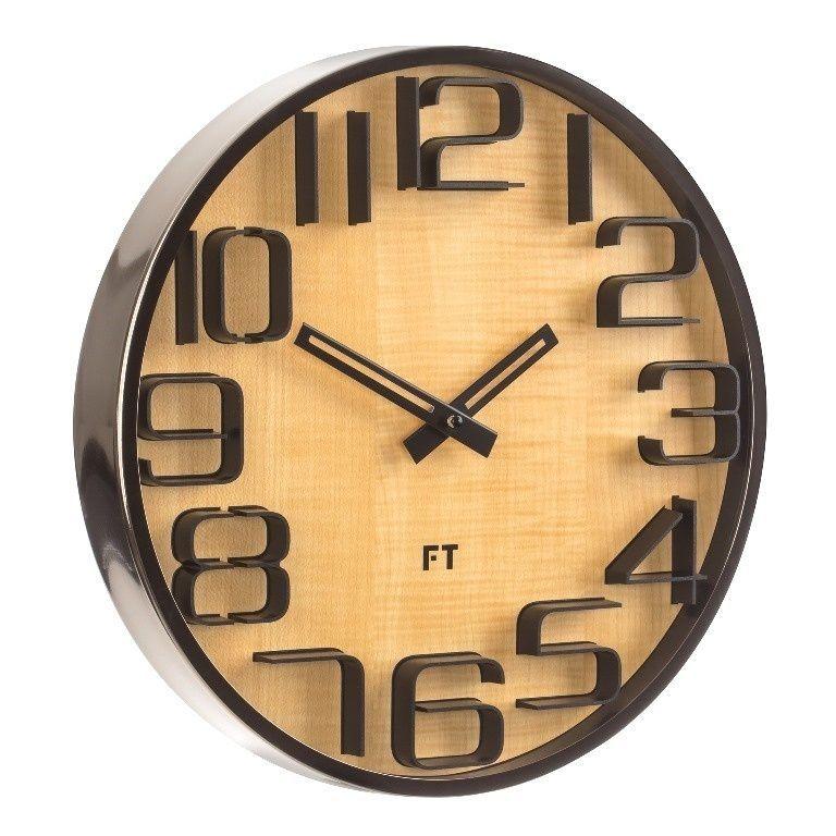 Designové nástěnné hodiny Future Time FT7010TT Numbers 30cm 167179 Hodiny