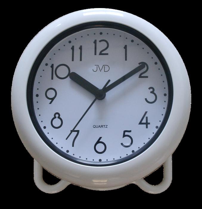 Saunové hodiny JVD bílé SH018 166914 Hodiny