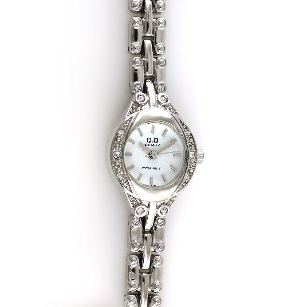 d0206b4f364 Dámské quartzové hodinky do společnosti zdobené brošenými kamínky..0142  167461