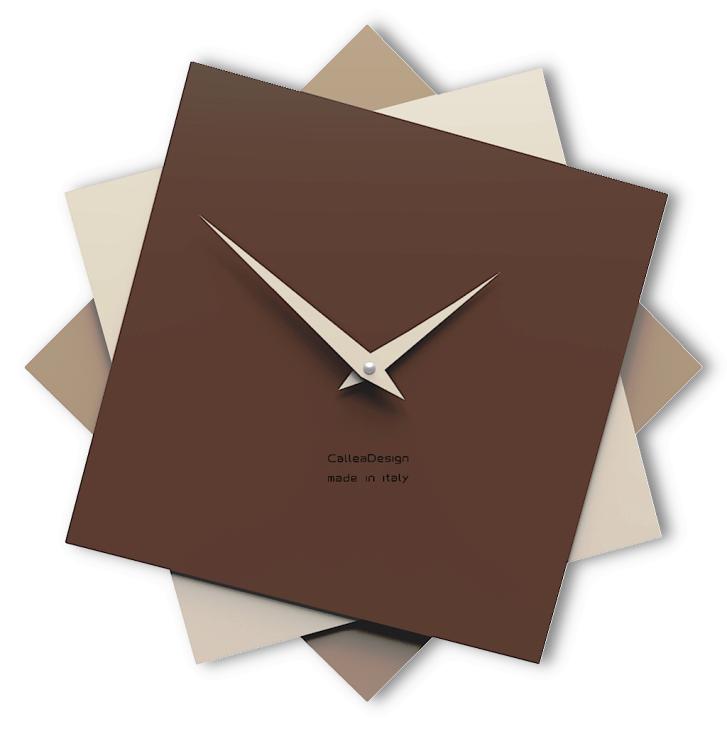Designové hodiny 10-030 CalleaDesign Foy 35cm (více barevných verzí) Barva žlutý meloun-62 - RAL1028 167263 Hodiny