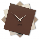 Designové hodiny 10-030 CalleaDesign Foy 35cm (více barevných verzí) Barva vínová červená-65 - RAL3003 167264
