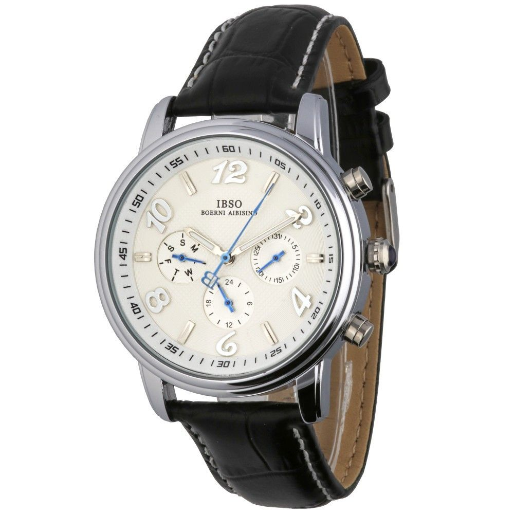 Moderní hodinky se zajímavým ciferníkem a ukazatelem data..016 167316 A.Q02I7070B90