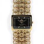Dámské hodinky s římskými indexy a řetízkovým náramkem..0266 167593