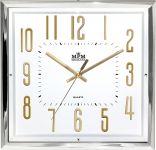 Elegantní čtvercové nástěnné hodiny..0171 167492