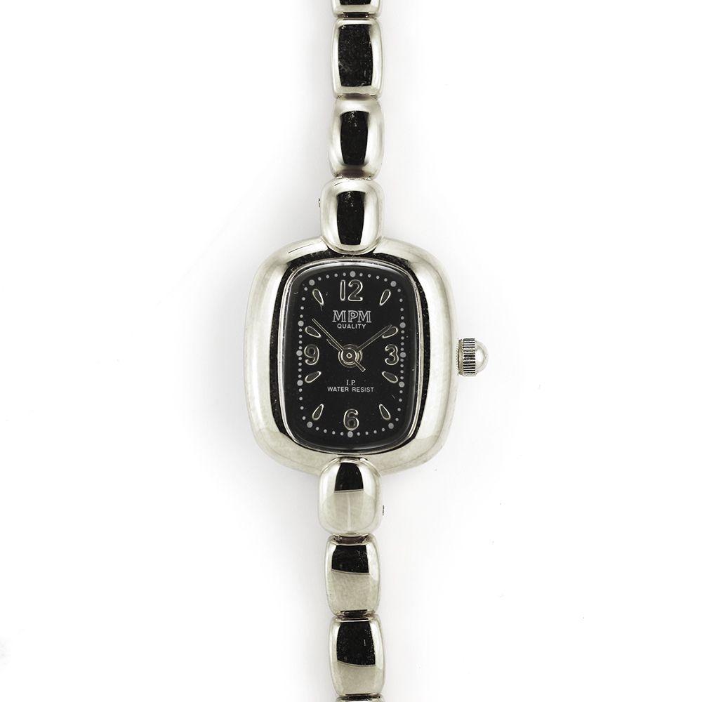 Jemné dámské hodinky stříbrné barvy..0181 167502 A.Q00I9071A71