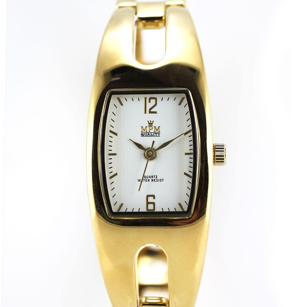 5dc10805f Náramkové zlaté hodinky s pevným řemínkem..0219 167547 A.Q00J0080A80