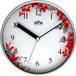 Nástěnné hodiny s pestrými motivy květin..0223 167551