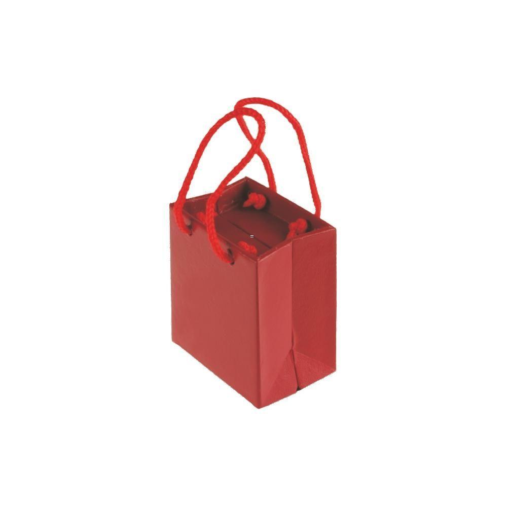 Dárková krabička na dva prstýnky ve tvaru tašky..0474 167813 Hodiny
