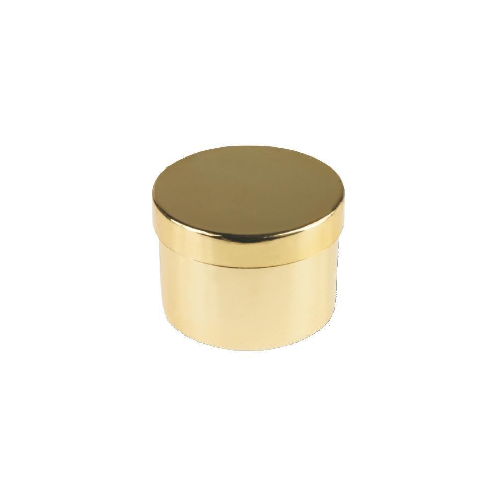 Dárková krabička na prstýnek ve zlatém provedení..0478 167817 Hodiny