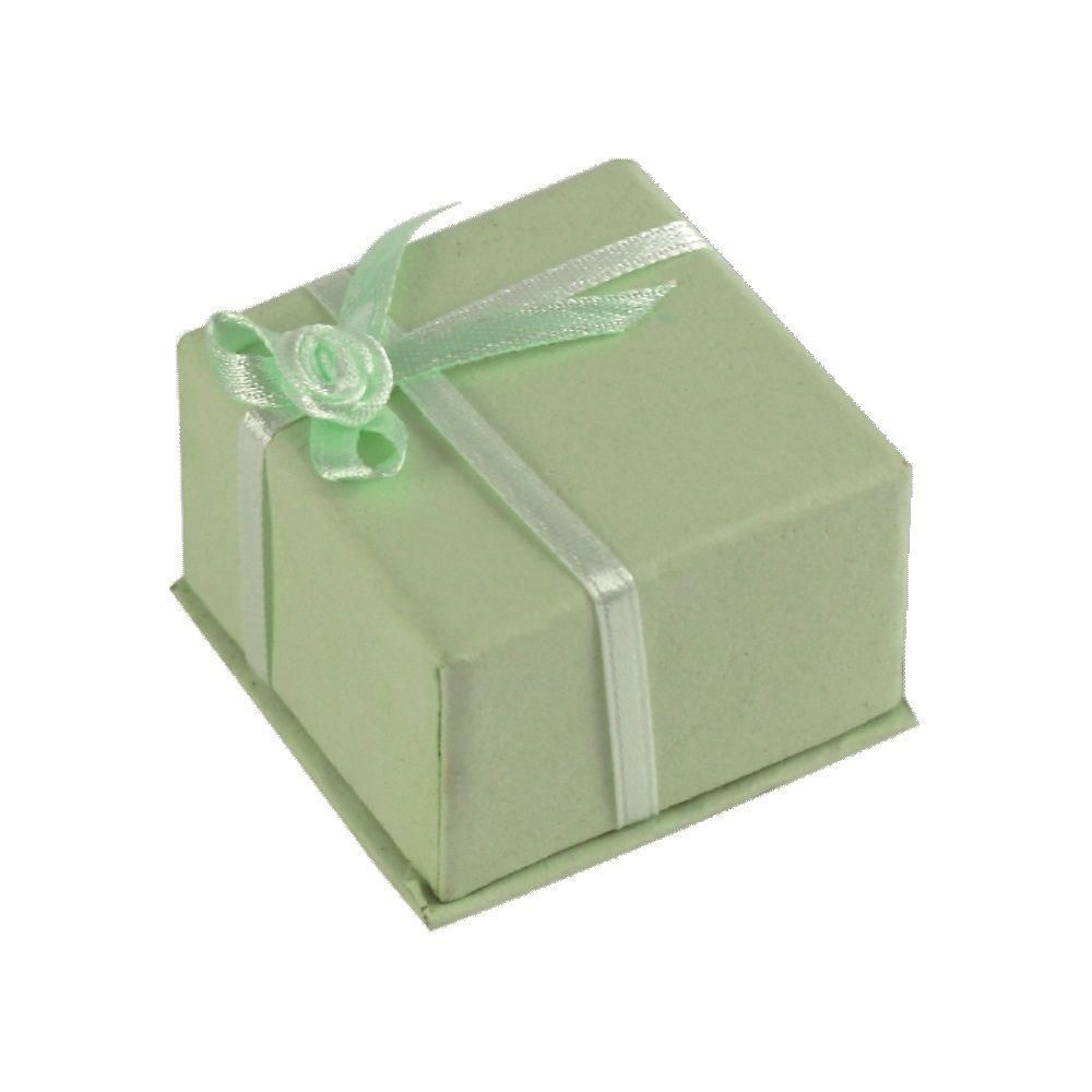 Dárková krabička ve světle zelené barvě..0480 167819 Hodiny