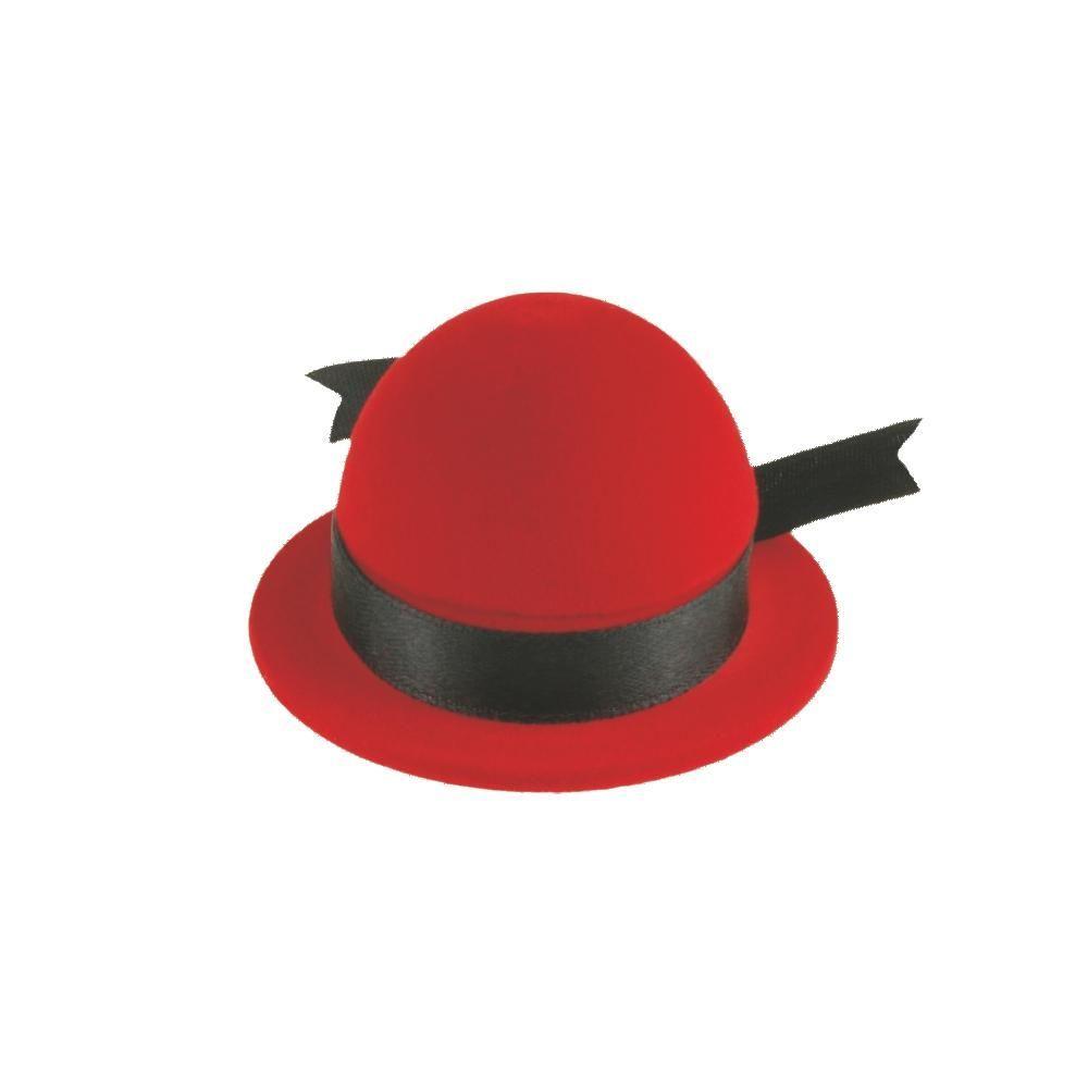 Dárková krabička ve tvaru kloboučku..0476 167815 Hodiny