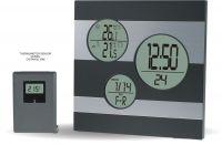 Moderní digitální meteostanice s teplotním senzorem..0561 167908