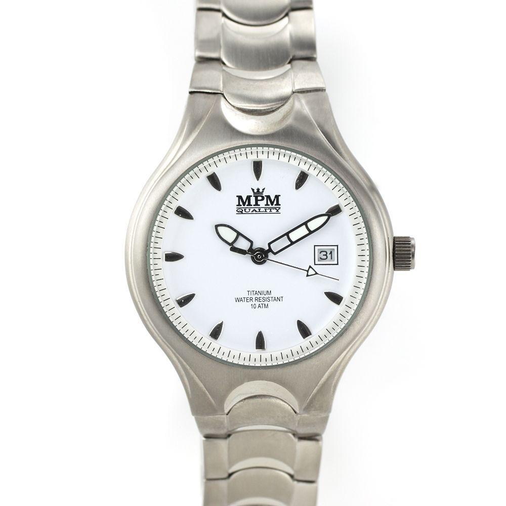 Stylové pánské hodinky s titanovým pouzdrem a řemínkem.0413 167749 379789cb29