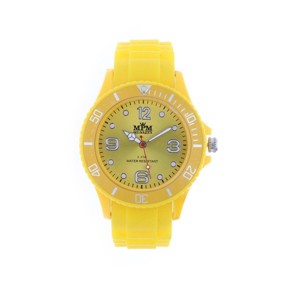 Sportovní barevné hodinky se silikonovým řemínkem..0866 168237 B.Q00M1000C10