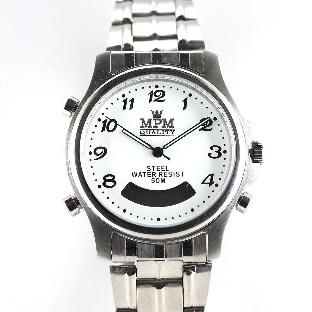 Pánské hodinky s digitálním display - čas 5cd3a0cc45