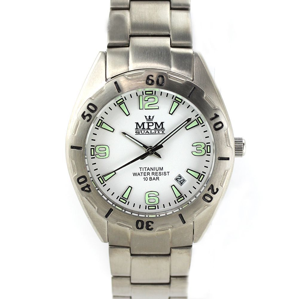 Pánské hodinky s titanovým pouzdrem i řemínkem.0416 168835 f0dbfda810