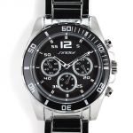 Sportovní multifunkční hodinky s otočnou lunetou a černým číselníkem..0257 168831