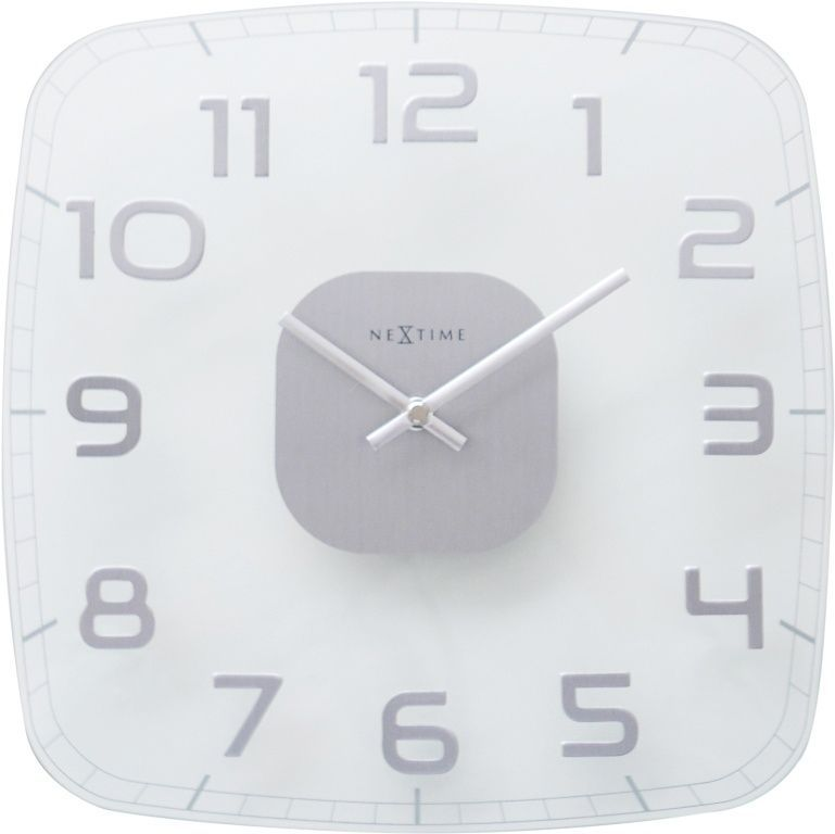 Designové nástěnné hodiny 8816tr Nextime Classy square 30cm 169022 Hodiny